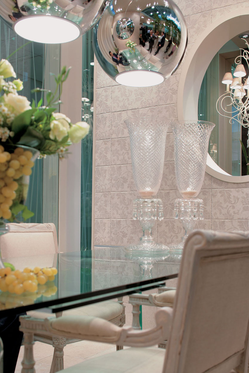 le jardin des sens novoceram au salon du cersaie 2006. Black Bedroom Furniture Sets. Home Design Ideas