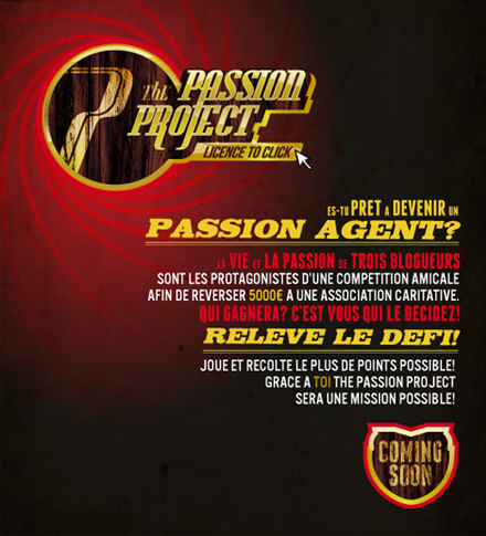 The Passion Project: coming soon!