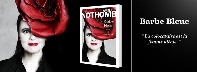 Amelie Nothomb publie Barbe Bleue