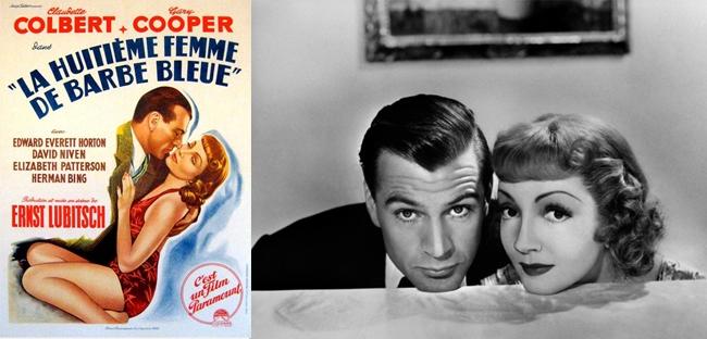 Gary Cooper et Claudette Colbert dans La 8ème femme de Barbe Bleue