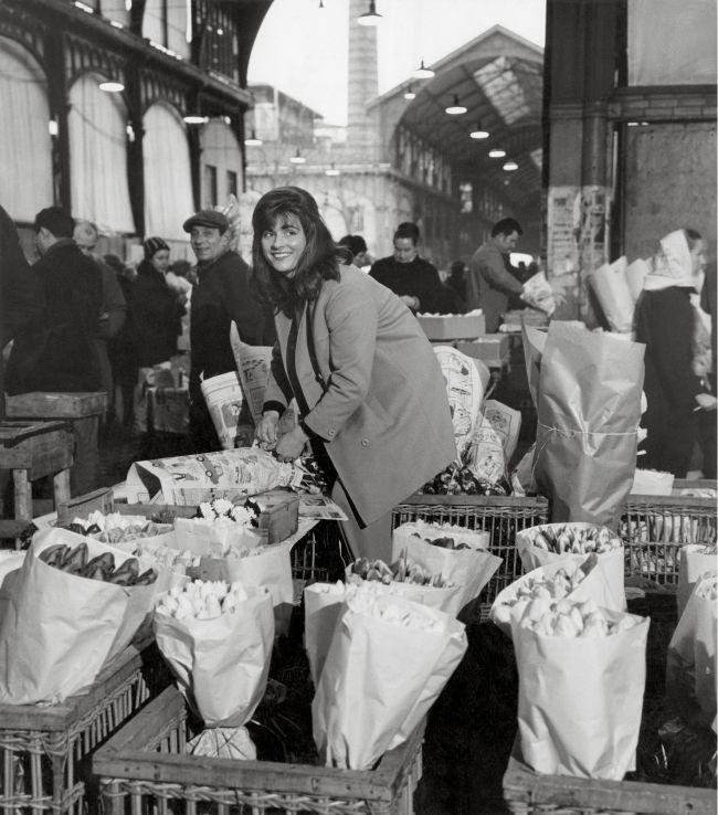 La marchande de fleurs Robert Doisneau