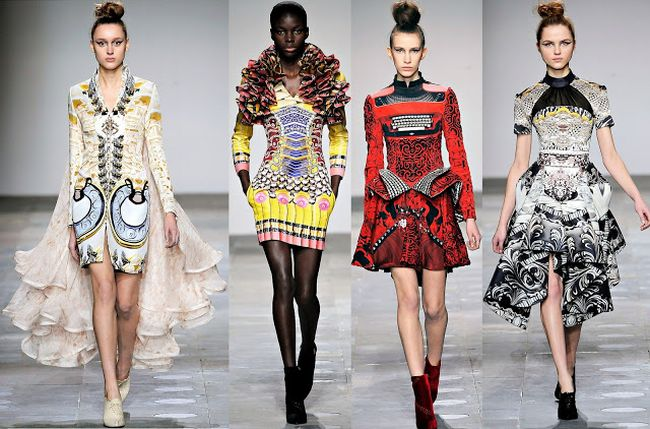Collection automne 2011 Mary Katrantzou