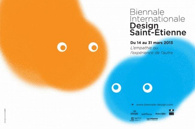 Affiche de la Biennale du Design 2013