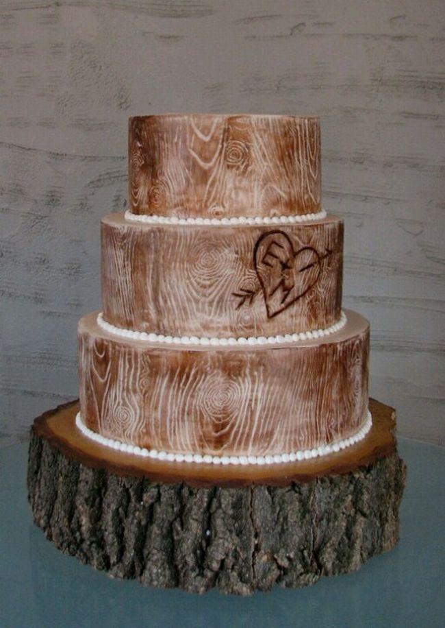 Gâteau en bois