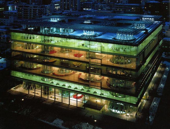 Mediathèque Sendai Toyo Ito