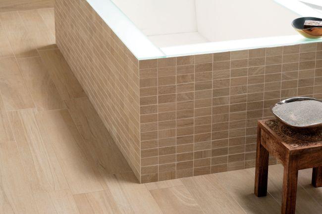 Noa Naturel Mosaique et 15x90 cm