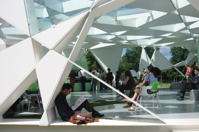 Serpentine Gallery Pavillion Toyo Ito