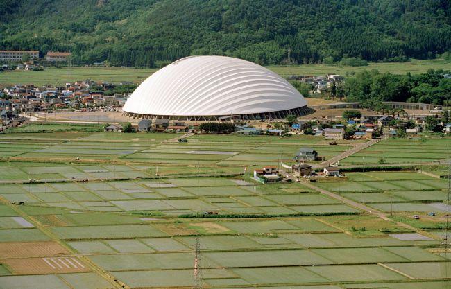Toyo Ito Dome in Odate
