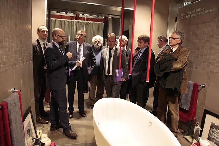 Hugues Leydier, Alain Genthon, Gérard Leras, Jean-Jack Queyranne et Hervé Saulignac