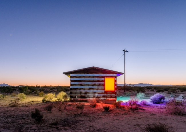 Lucid Stead by night