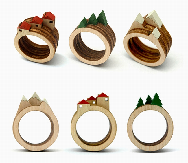clive roddy wooden rings