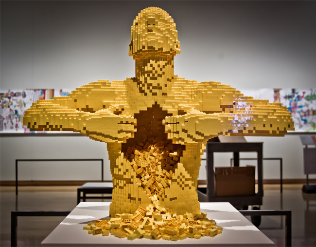 Construction Lego nathan sawaya