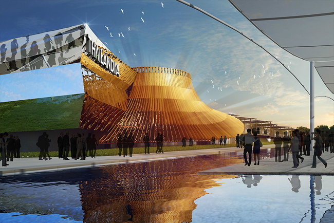 pavillon thaïlandais exposition universelle Milan 2015