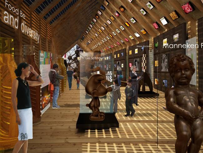 pavillon belge expo2015
