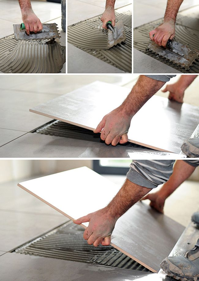 Pose Carrelage Sur Carrelage