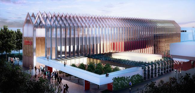 pavillon espagnol expo2015