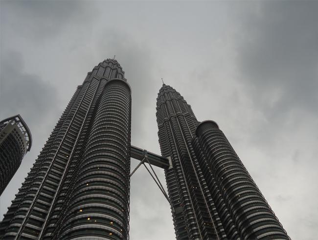 gratte-ciels hauts