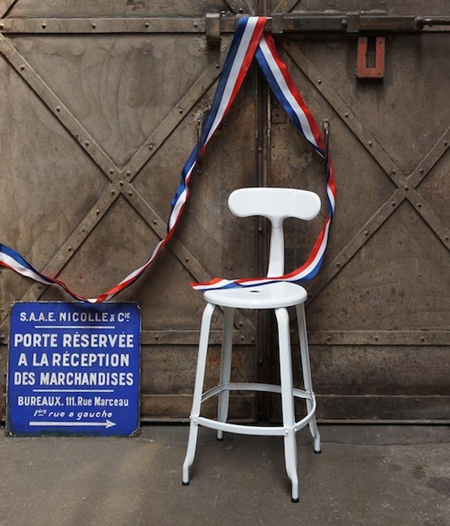 Chaise industrielle Nicolle - Novoceram