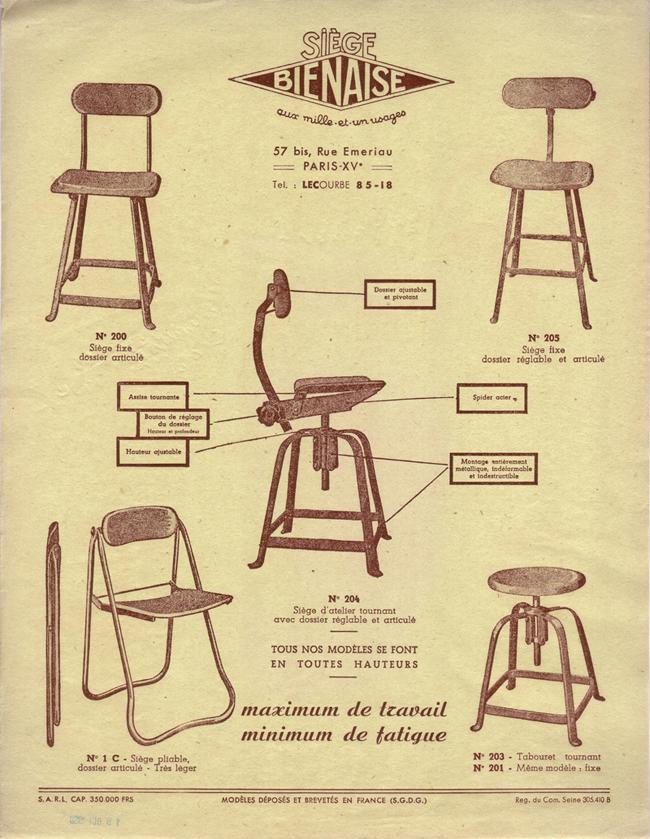 chaise style industriel bienaise novoceram 2