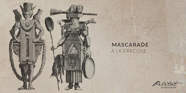 Mascarade à la Grecque - Petitot
