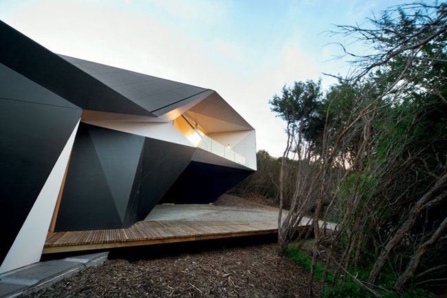 Architecture Origami - Klein Bottle House - McBride Charles Ryan