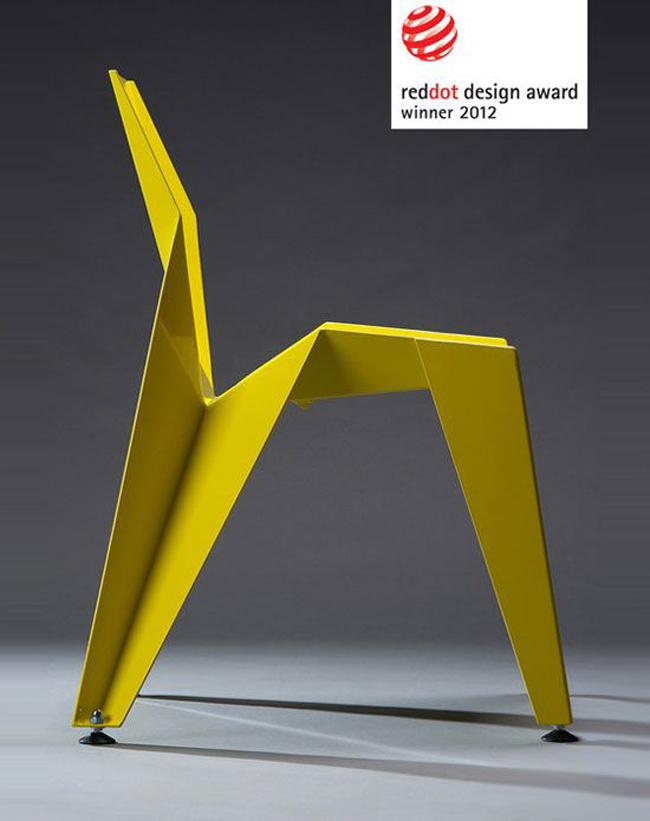 Origami Decoration The Edge Chair