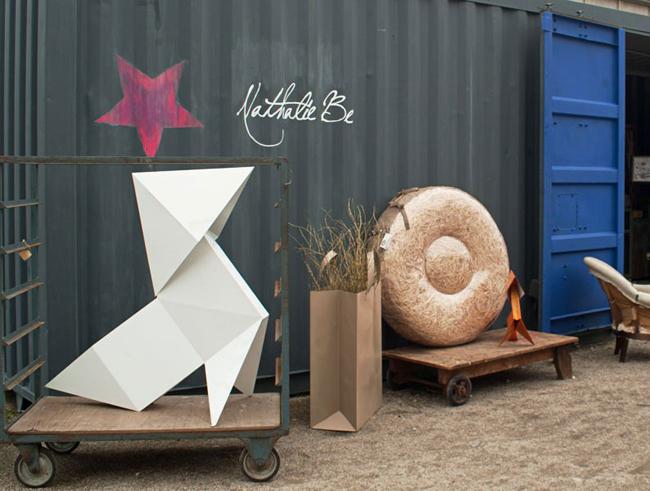 Origami objet decoration