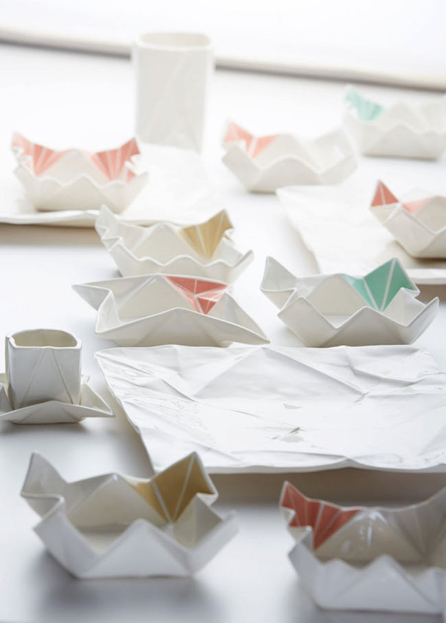 Origami Decoration Art de la table Angelina Erhorn