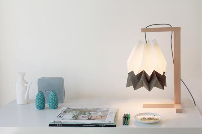 Origami Decoration Lampe Orikomi