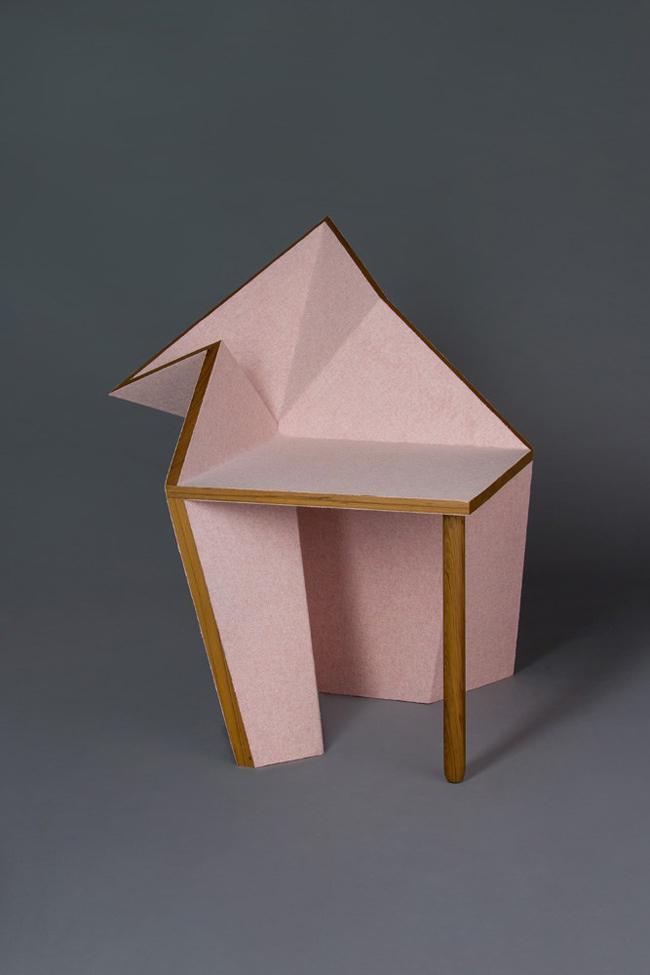 Origami Decoration Meuble Oru