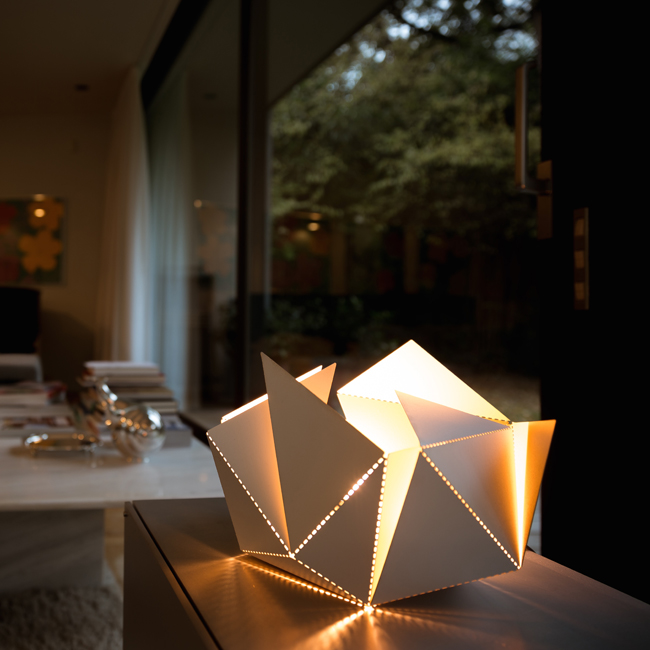Origami Decoration Folding lamp