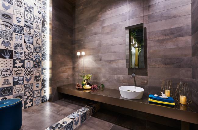 Salle de bain Indigo Cersaie 2016