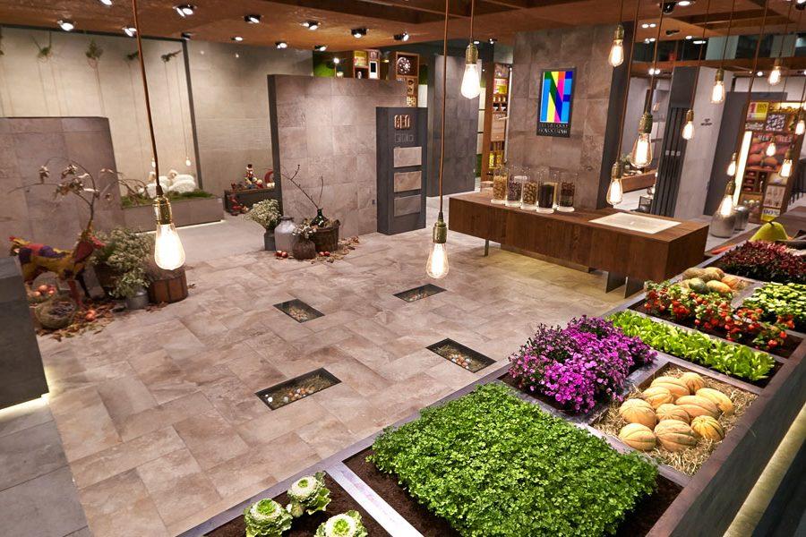 """Cersaie 2014 """"Tiles & Food Novoceram"""""""