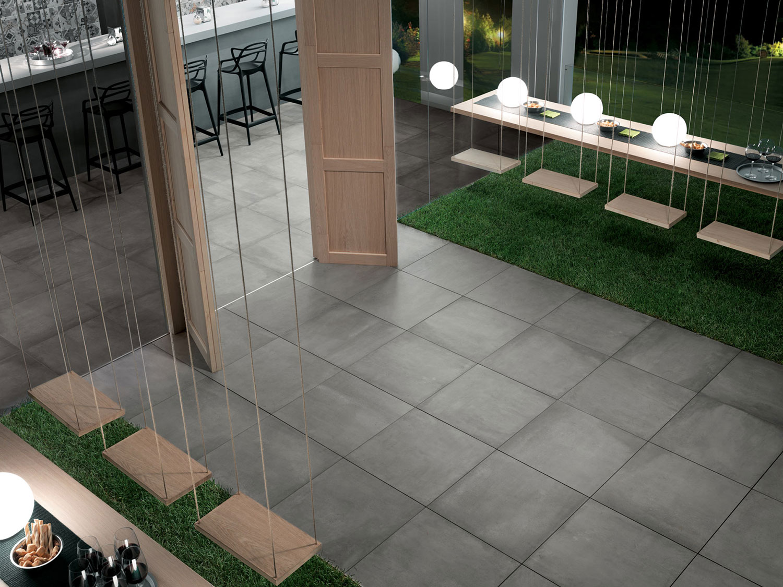 Carrelage sol ext rieur imitation b ton carreaux - Carrelage effet beton ...