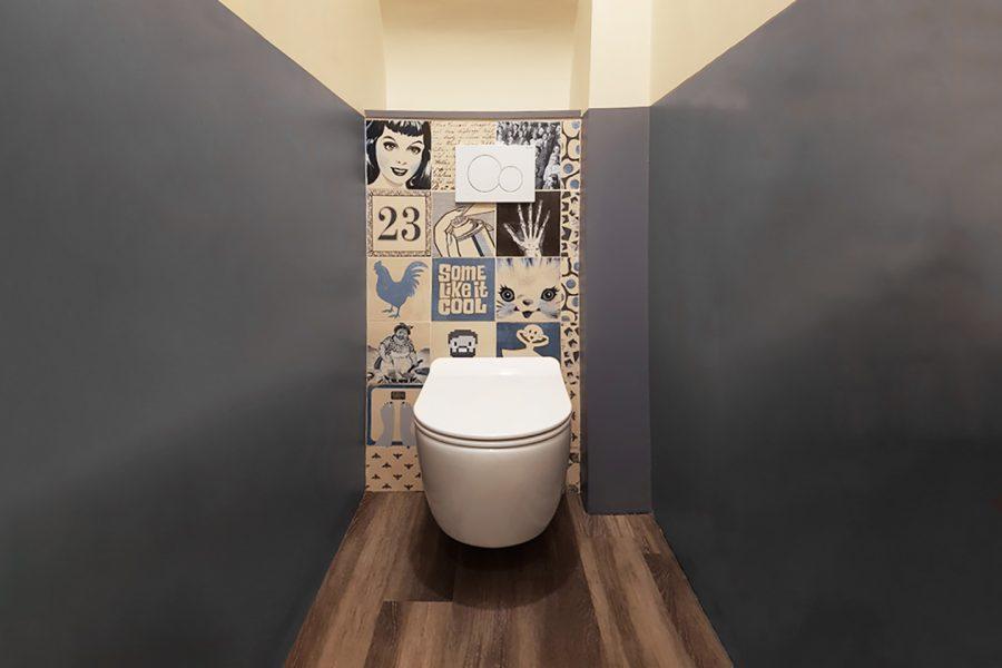 carrelage pour toilette et wc imitation bois novoceram. Black Bedroom Furniture Sets. Home Design Ideas