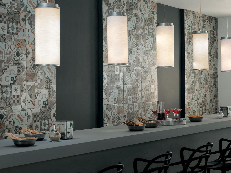 carrelage mural imitation carreaux ciment effet carreaux. Black Bedroom Furniture Sets. Home Design Ideas