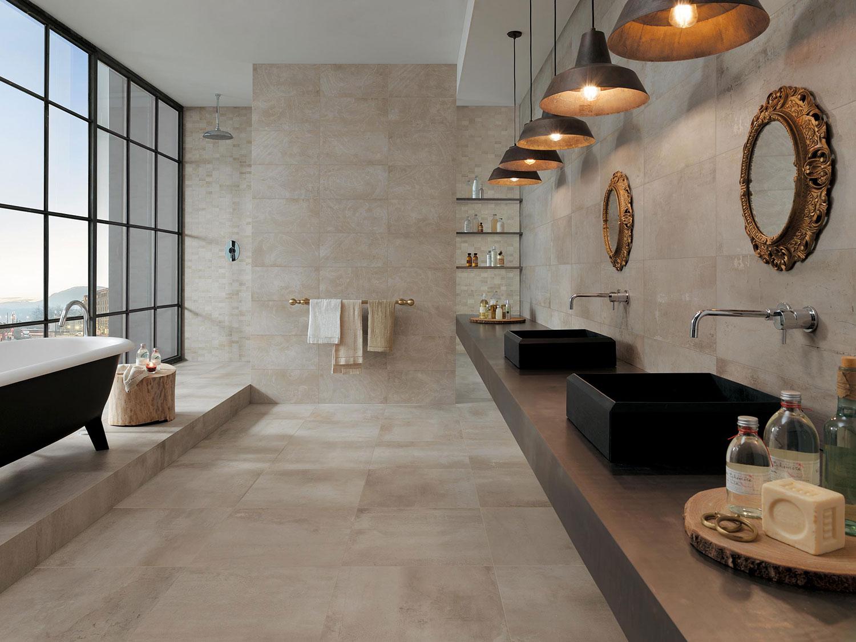Carrelage Ivoire pour Salle de bains | Carreaux SDB de ...