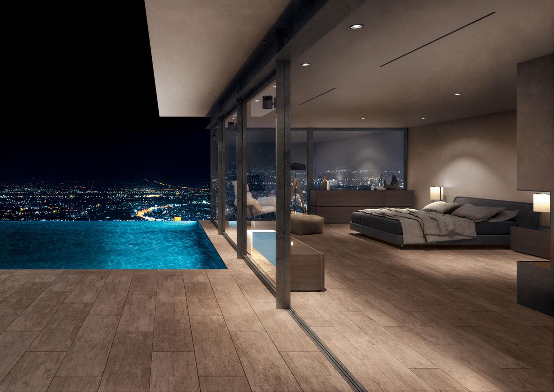 carrelage mur ext rieur imitation bois effet bois pour l. Black Bedroom Furniture Sets. Home Design Ideas