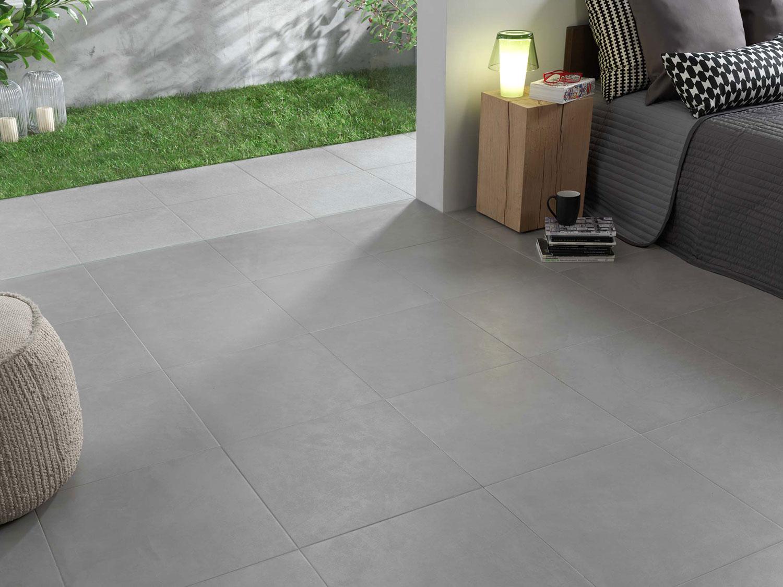 Carrelage gris clair imitation r sine carreaux gris clairs effet r sine - Resine carrelage cuisine ...