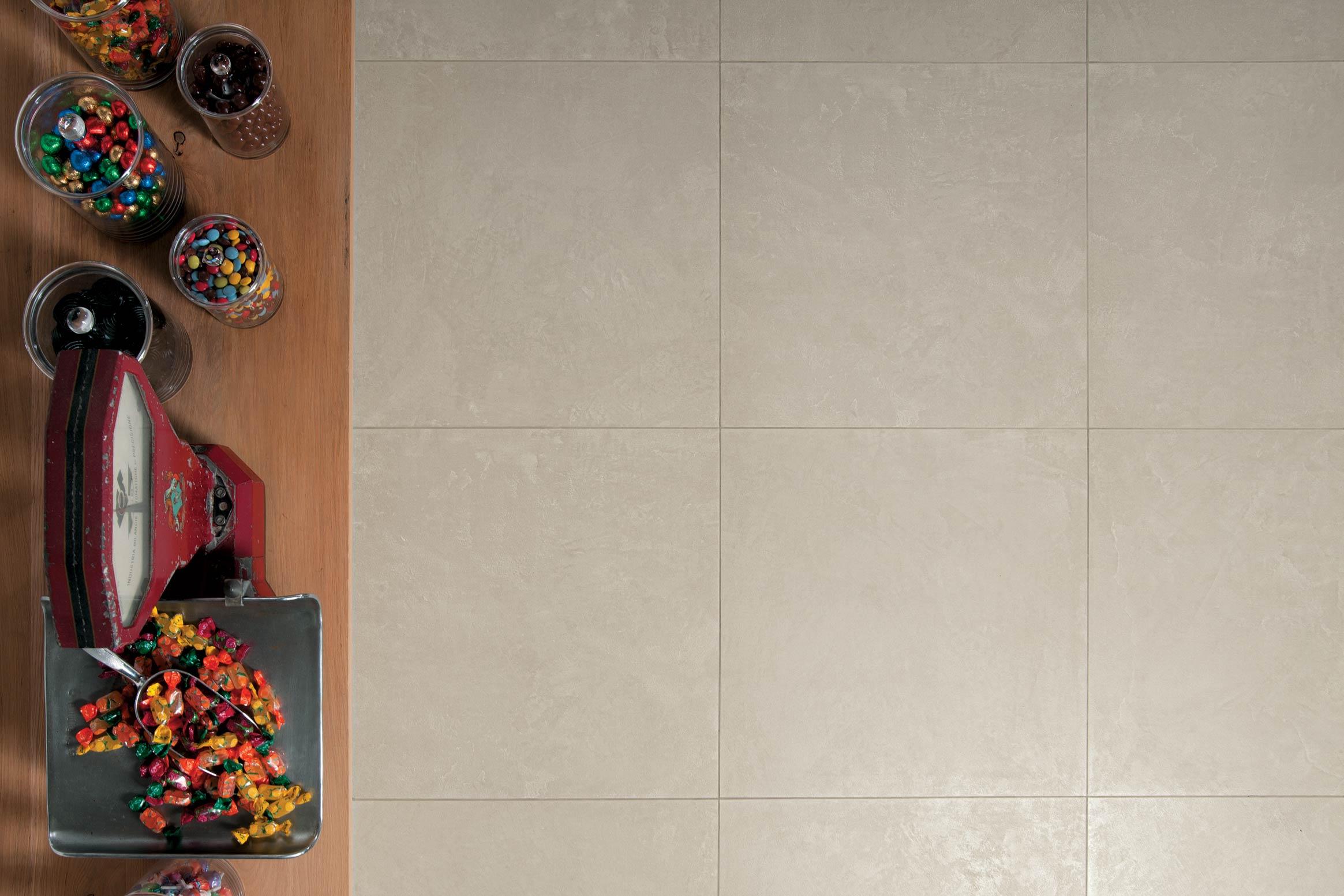 Zen : Carrelage sol et mur aspect résine pour intérieur