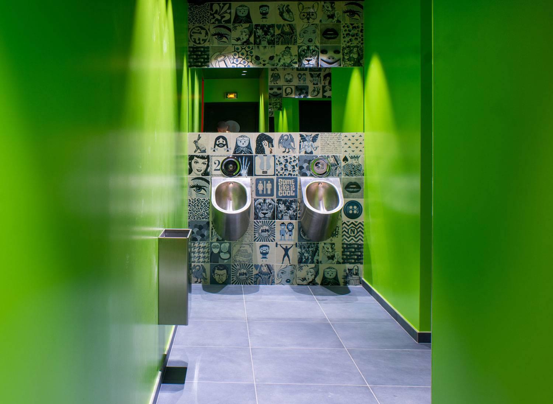 Carreau De Ciment Toilette carrelage pour toilette et wc imitation carreaux ciment