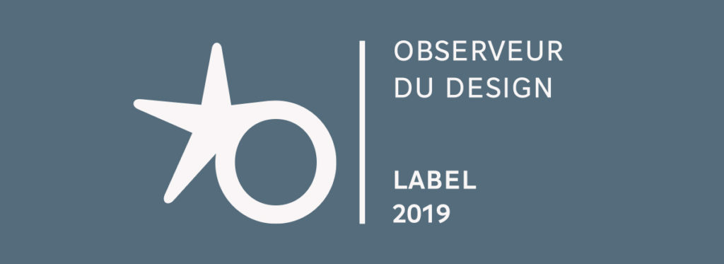 Label Observeur du Design 2019