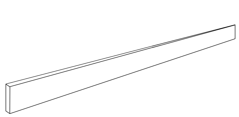 """Plinthe Droite <span style=""""white-space:nowrap;"""">6x120 cm</span>"""