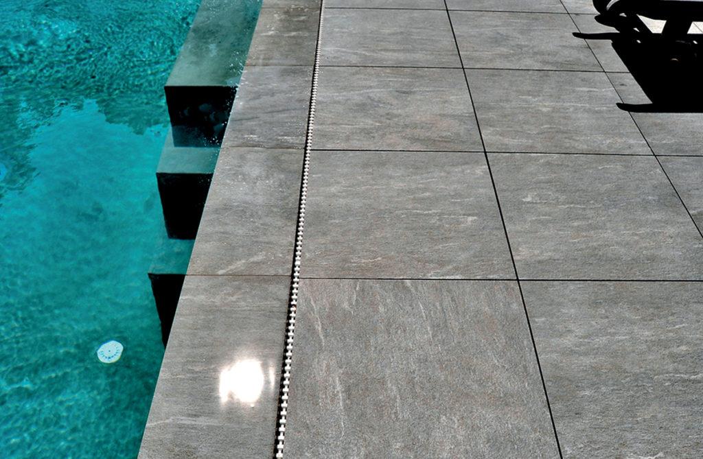 Margelle et angle pour piscine