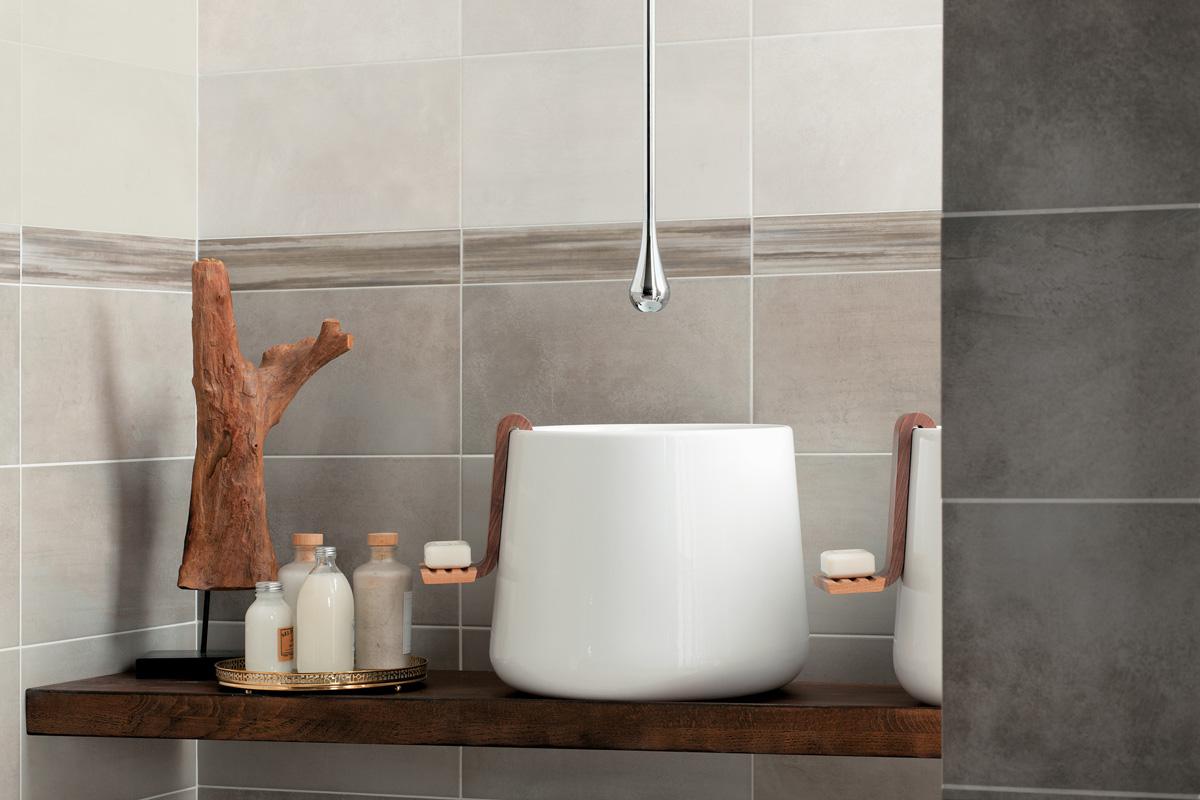 idées déco pour la salle de bain - les robinets