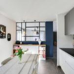 Cuisine Indigo Projet Slai Interieur