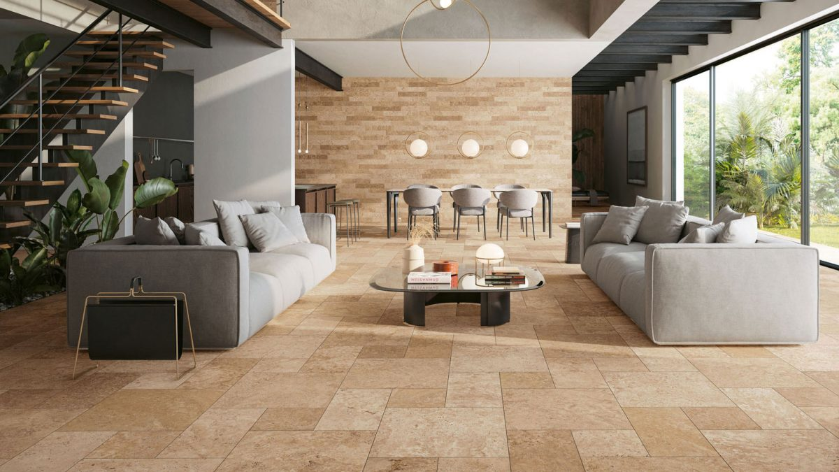 Tiber Natural composition modulaire & 10x60