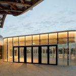 Salle Restauration Pompidou Metz by Studio Lada