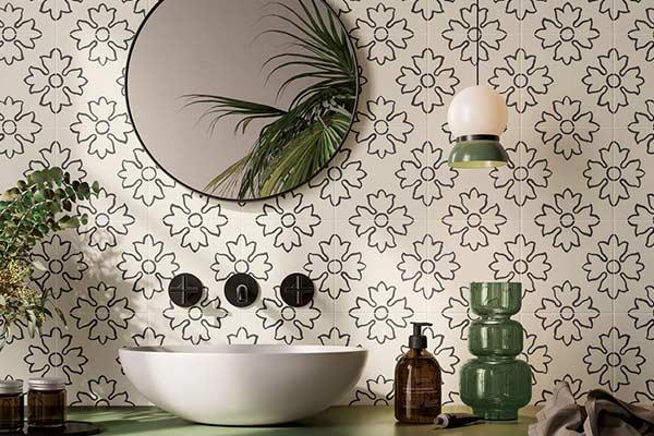 Carrelage azulejos salle de bain