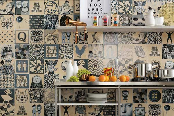 azulejos modernes cuisine
